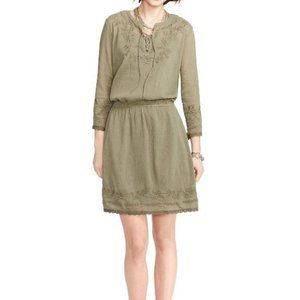 Ralph Lauren Embroidered Peasant Dress
